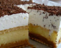 Nepečený vanilkový dezert s lahodnou jemnou chutí – připravený za 15 minut!